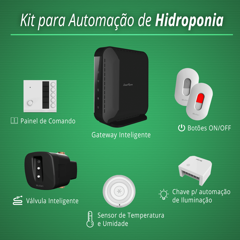 Kit de Automação de Hidroponia