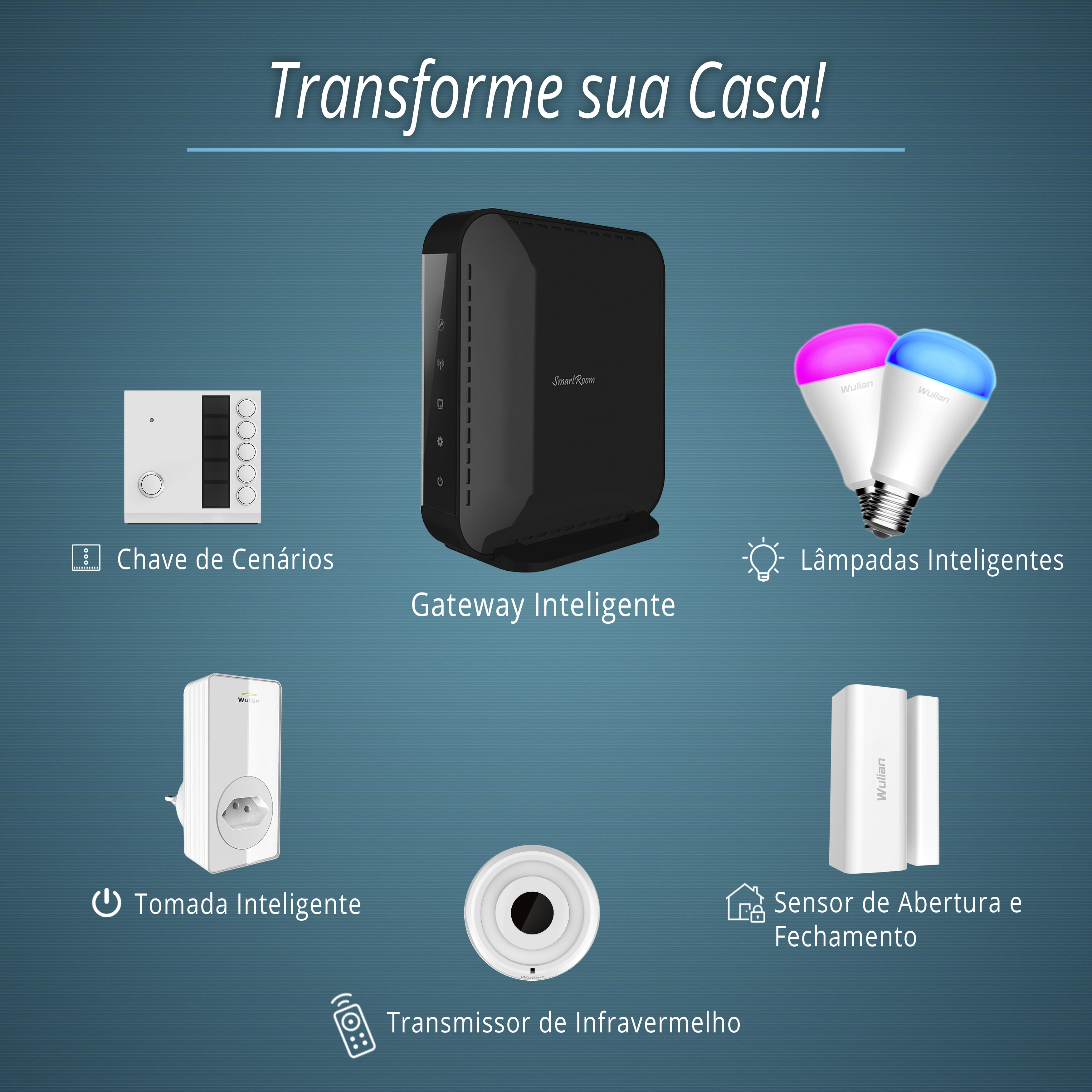 Kit Casa Inteligente