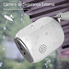 Câmera Externa Inteligente