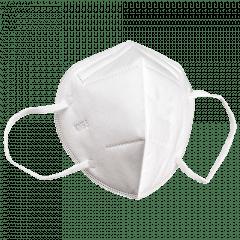 Máscaras Profissionais Kn95 PFF2 Sem Válvula Proteção Respiratória Descartável
